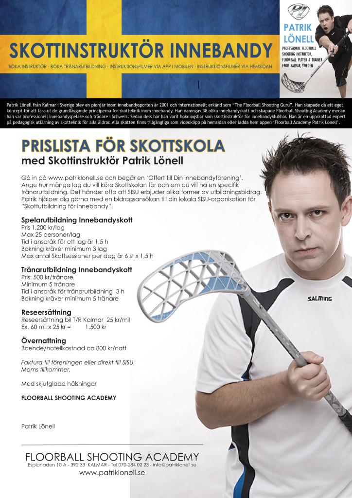 Skottskolan Innebandy Patrik Lönell