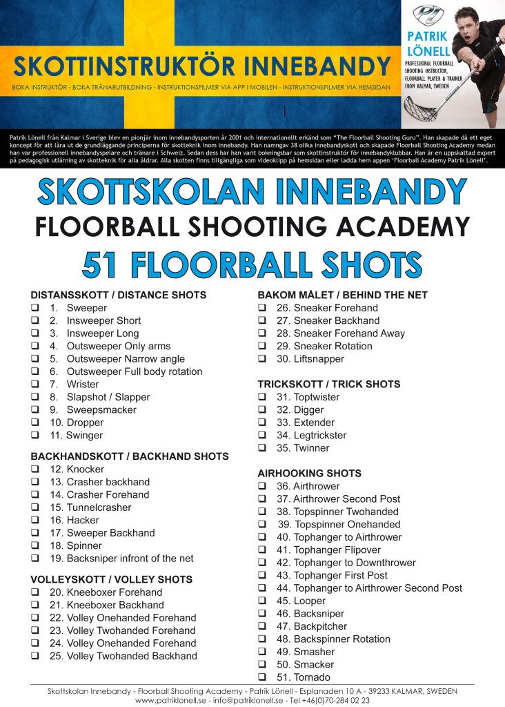 Floorball Shooting List_updated 20151105
